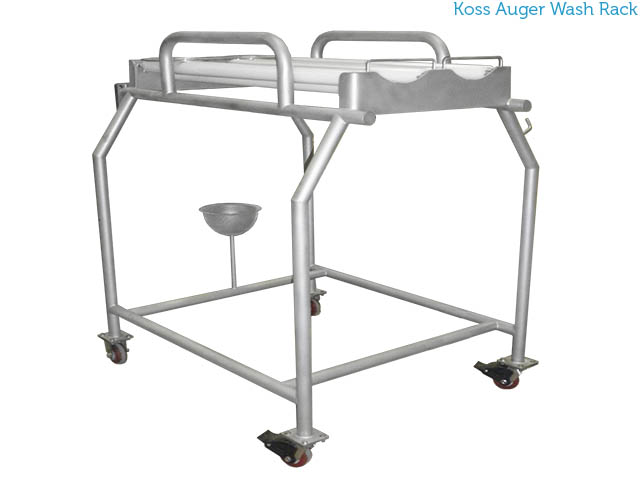 Koss auger wash rack auger wash cart LBL