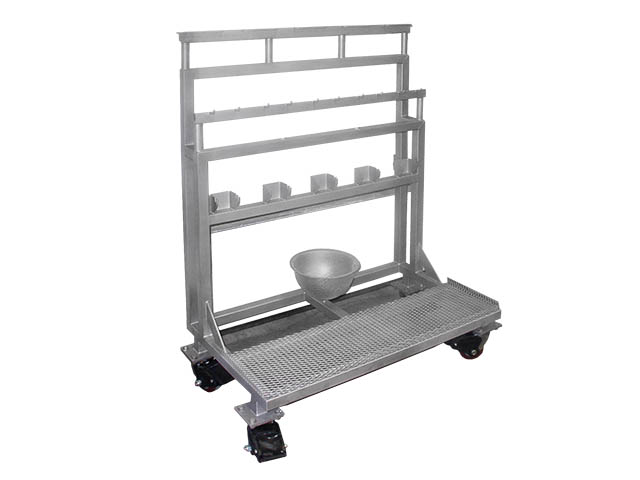 Koss Stainless Steel Wash Rack