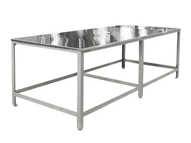 Koss stainless steel table