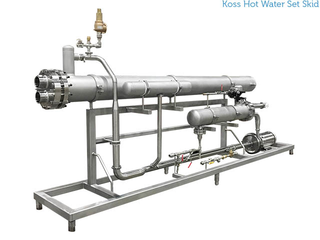 Koss Hot Water Set Skid