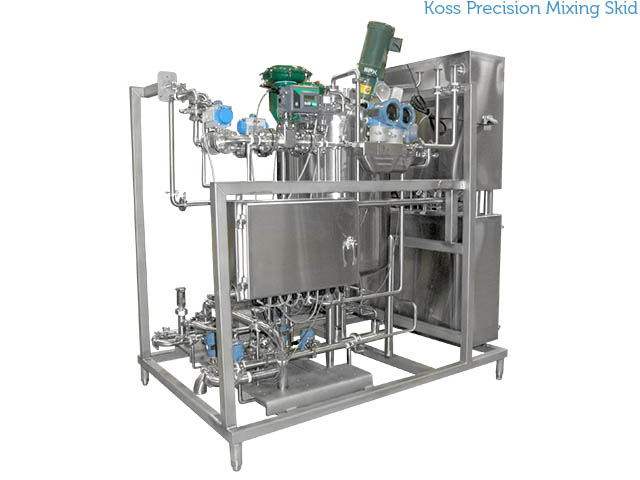 Koss Precision Mixing Skid