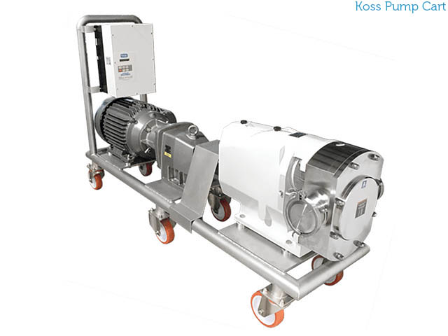 Koss Pump Cart LBL