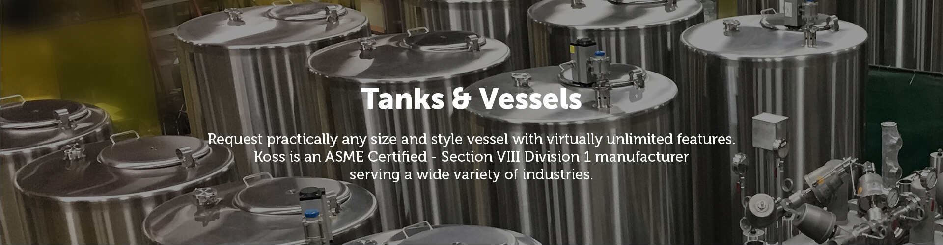 Koss Tanks & Vessels