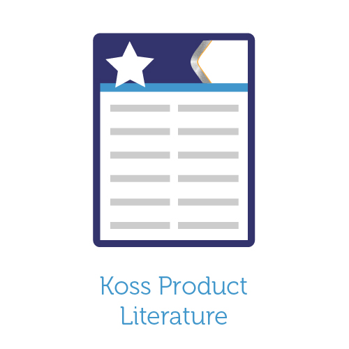 Koss Product Literature icon